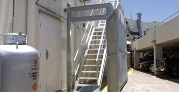 Roof Access Stairs Safe At Heights Queensland 15 1
