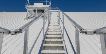 Roof Access Stairs Safe At Heights Queensland 6 1