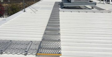 Roof Access Walkways Roof Access Platforms Safe At Heights Queensland IMG 7645