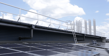 roof guard rail Safe At Heights Brisbane Queensland